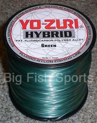 4lb 600yd green yo zuri hybrid fluorocarbon fishing line for Yo zuri fishing line